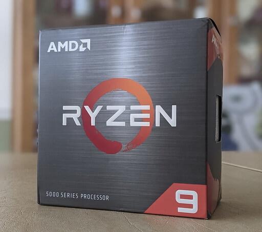 Ryzen 9 5900X CPU box