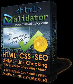 CSE HTML Validator Box