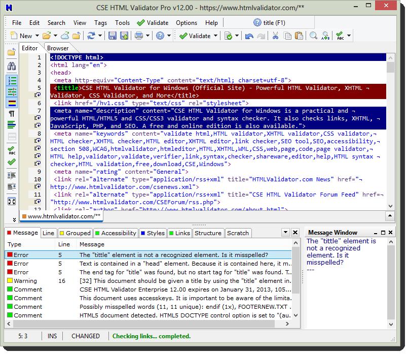 cse html validator main ws - CSE HTML Validator Standard 12 ( 24 Saat Kampanya )
